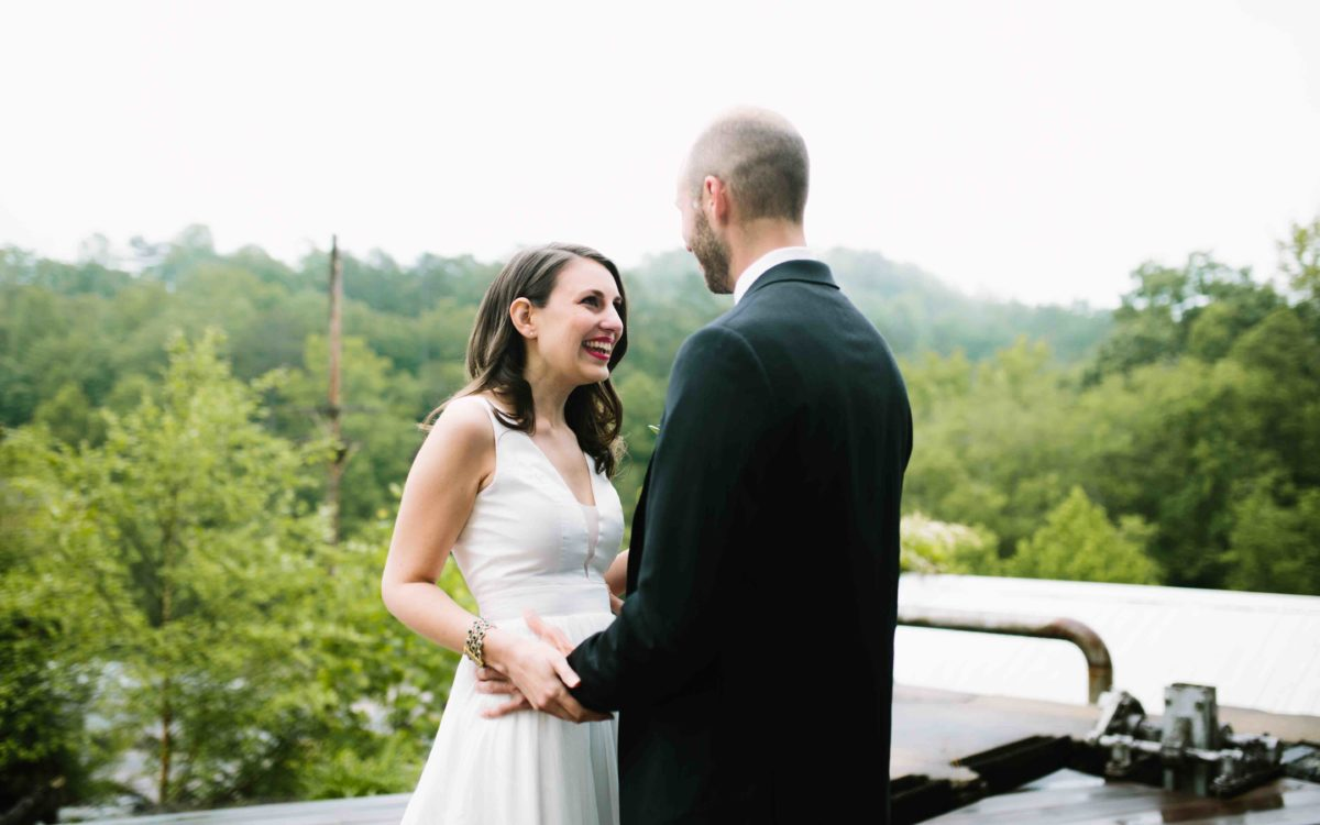 Fresh Organic Wedding at the Mills
