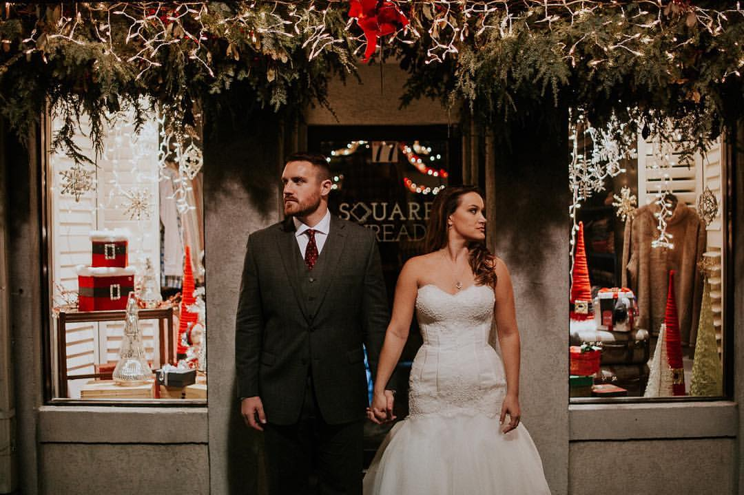 Warm Romantic Holiday Wedding